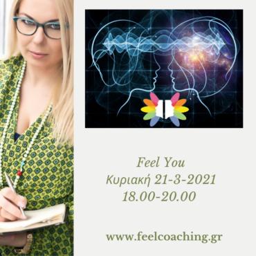 "Webinar ""Feel You"" 21-3-2021"